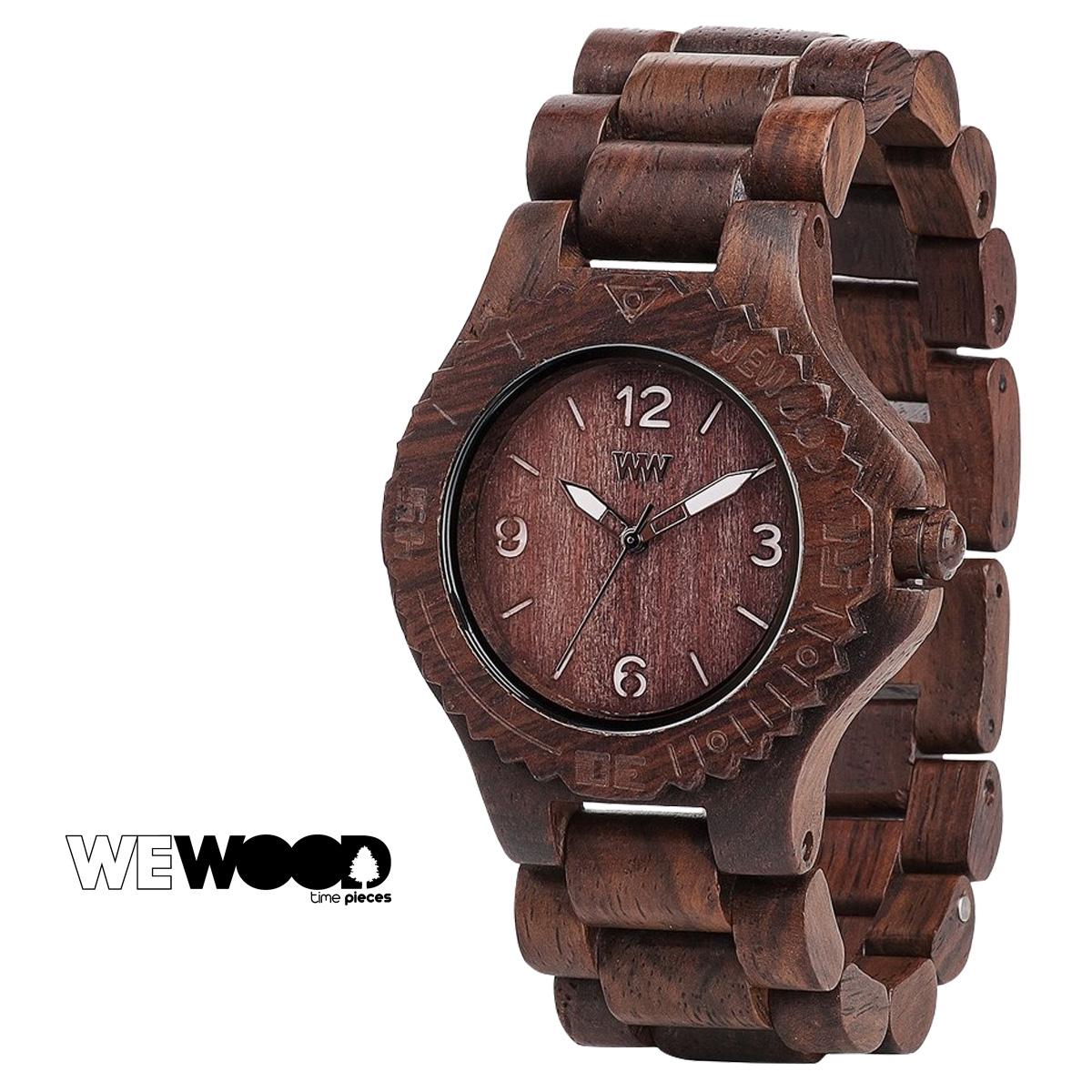 ウィーウッド 腕時計 メンズ レディース WEWOOD KALE チョコ ホワイト CHOCOLATE WHITE ケール