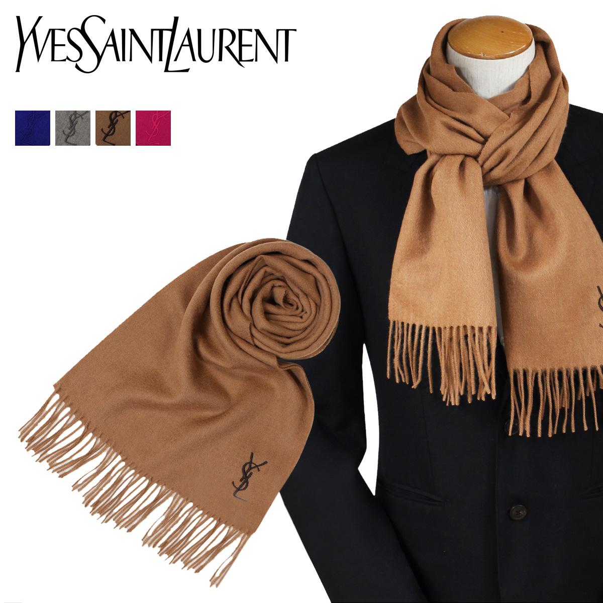 d7cc0166841 Yves Saint Laurent scarf men gap Dis Yves Saint-Laurent YSL scarf stall  wool logo LOGO WOOL SCARF
