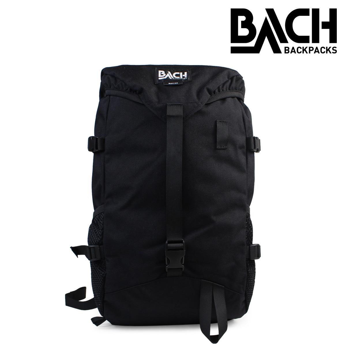 BACH バックパック 22L バッハ リュック ROC 22 コーデュラ 122001 レディース メンズ ブラック 黒