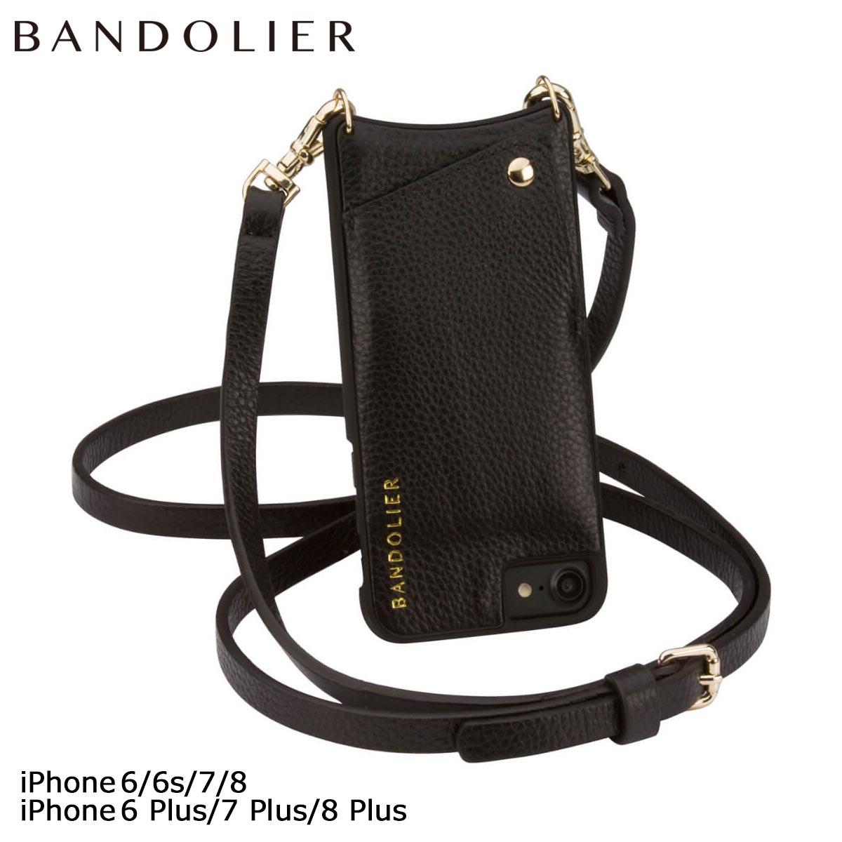 バンドリヤー BANDOLIER iPhone8 iPhone7 7Plus 6s ケース スマホ アイフォン プラス EMMA レザー メンズ レディース [4/18 再入荷]
