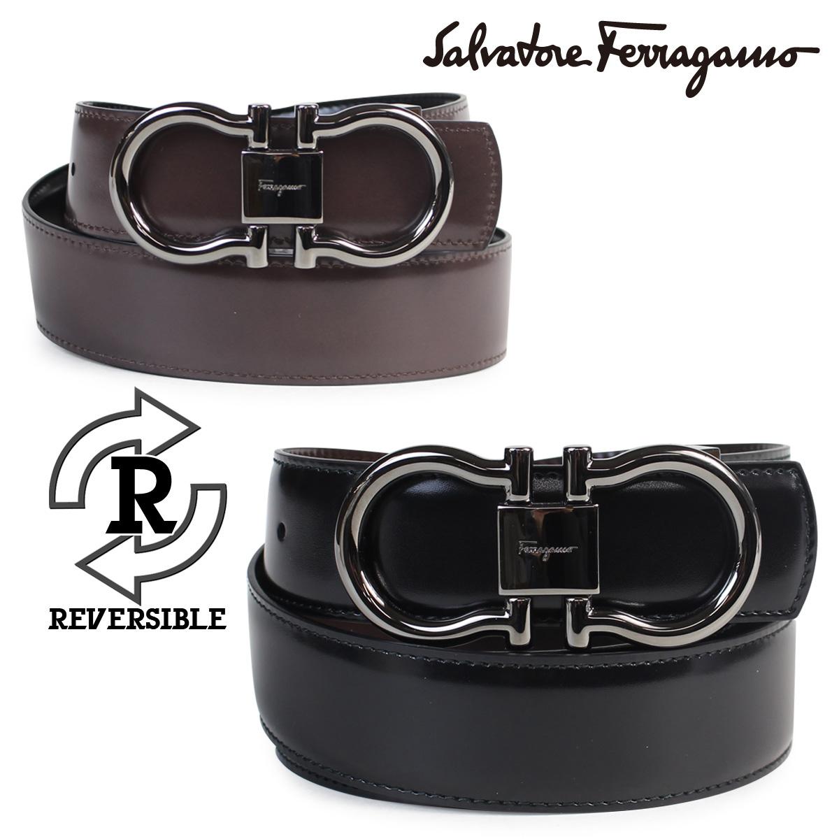 bd3256562cf99 Salvatore Ferragamo belt men genuine leather reversible Salvatore Ferragamo  business wedding ceremony ...