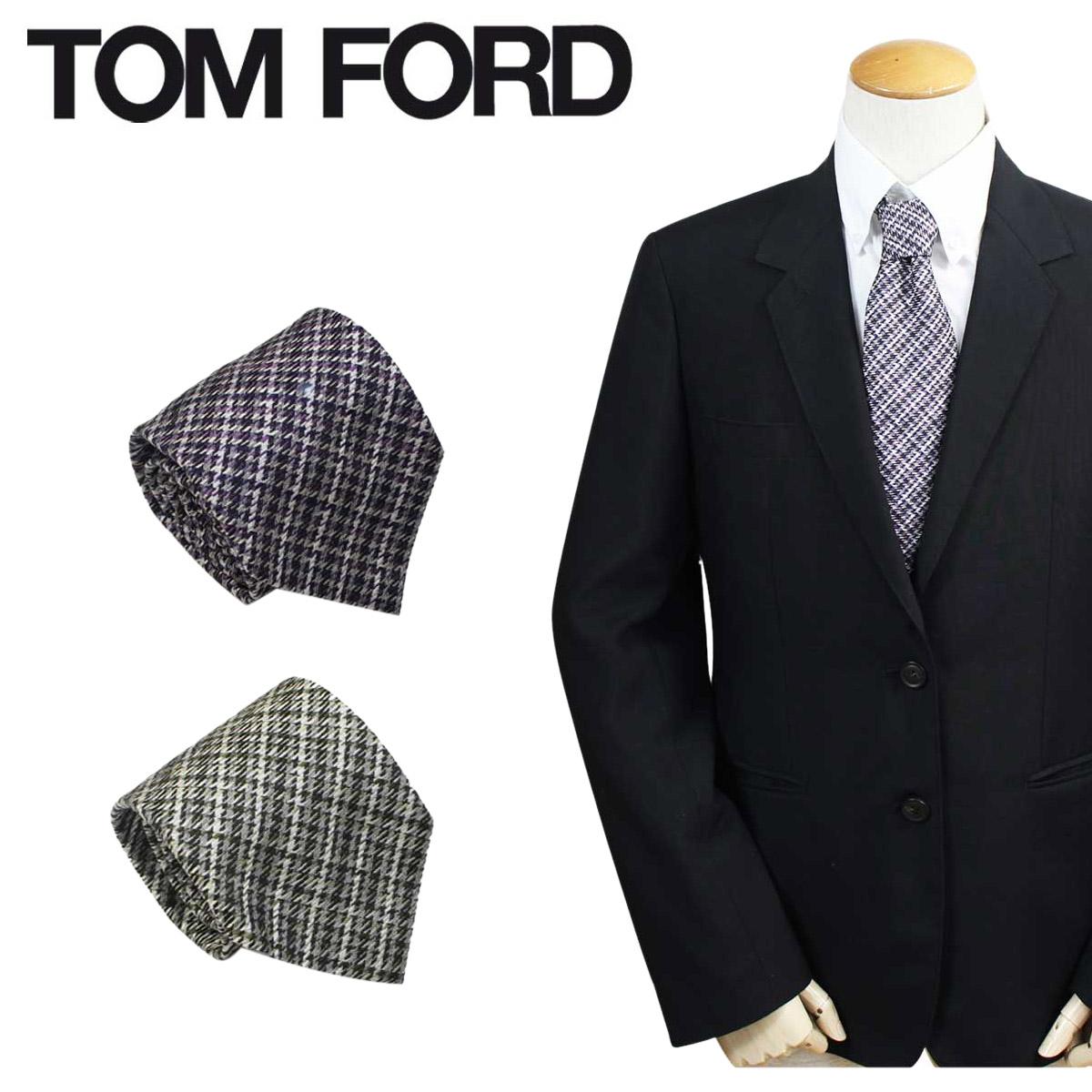 TOM FORD トムフォード ネクタイ シルク メンズ カジュアル ビジネス 結婚式 イタリア製 【決算セール 返品不可】