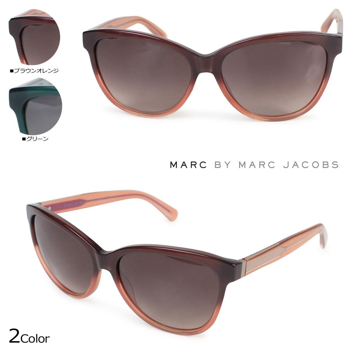 MARC BY MARC JACOBS マークバイマークジェイコブス サングラス レディース UVカット MMJ411/S ブラウンオレンジ グリーン