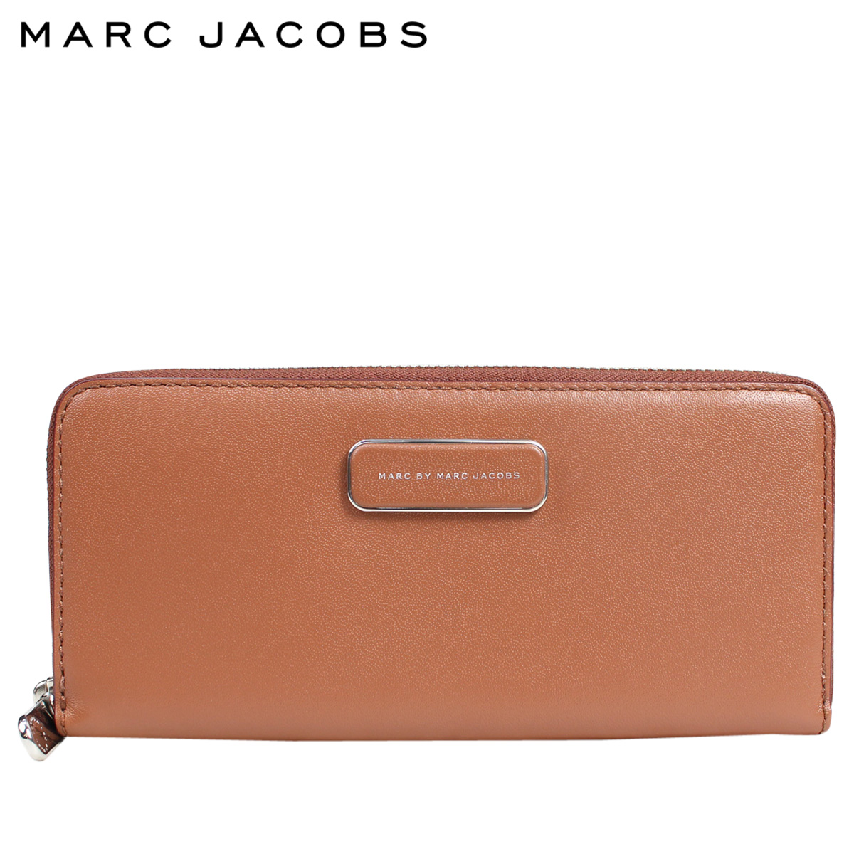 f2a8da567ec2 Mark by mark Jacobs MARC BY MARC JACOBS wallet long wallet round fastener  Lady s SLIM ZIP AROUND M0006934 brown