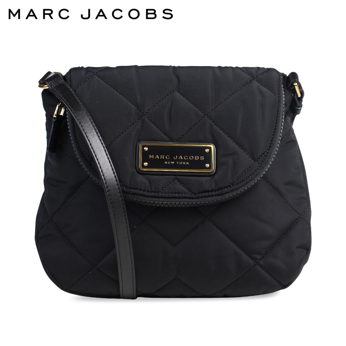 Mark Jacobs Marc Bag Shoulder Lady S Quilted Natasha Nylon Mini M0011379 Black 6 12 Shinnyu Load