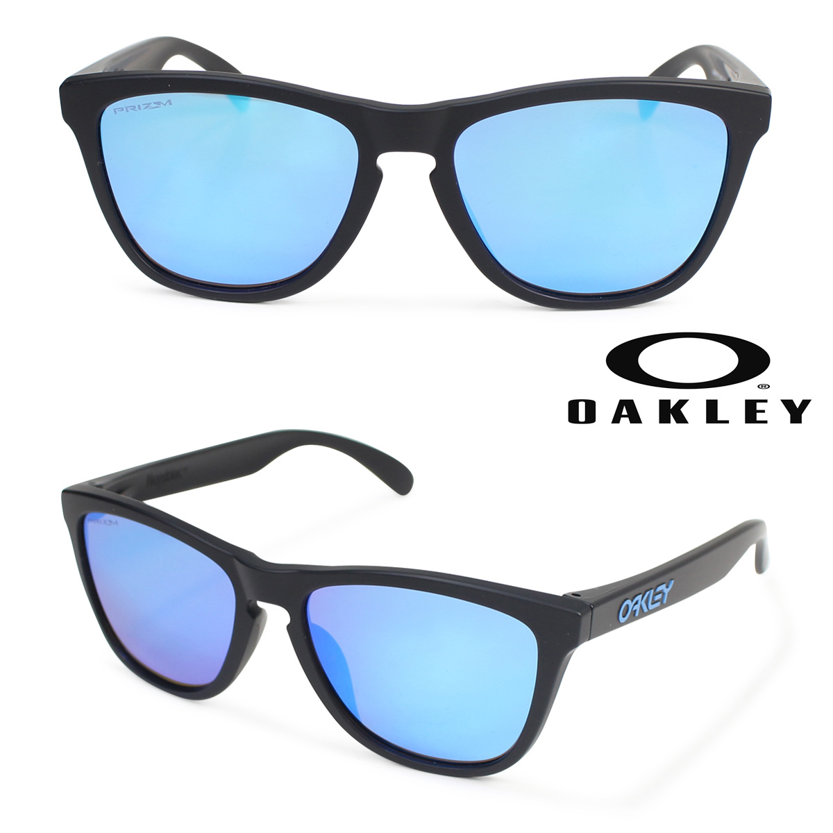 Oakley サングラス アジアンフィット オークリー Frogskins フロッグスキン ASIA FIT OO9245-6154 メンズ レディース