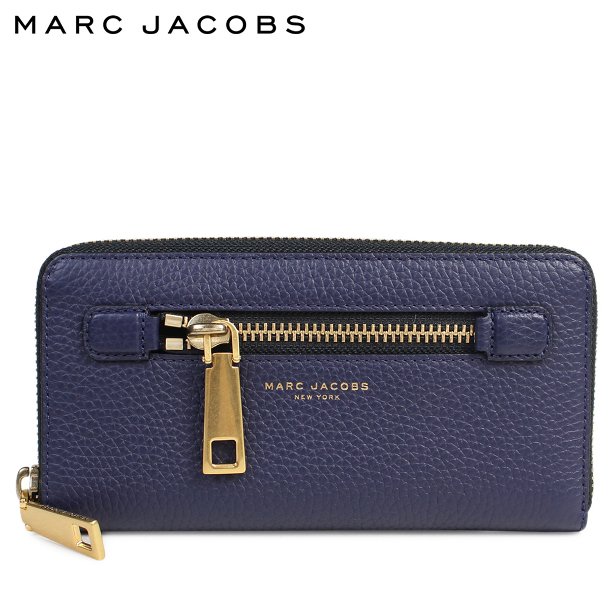 b691faefc500 Mark Jacobs MARC JACOBS wallet long wallet round fastener Lady s M0008449  GOTHAM STANDARD CONTINENTAL WALLET navy