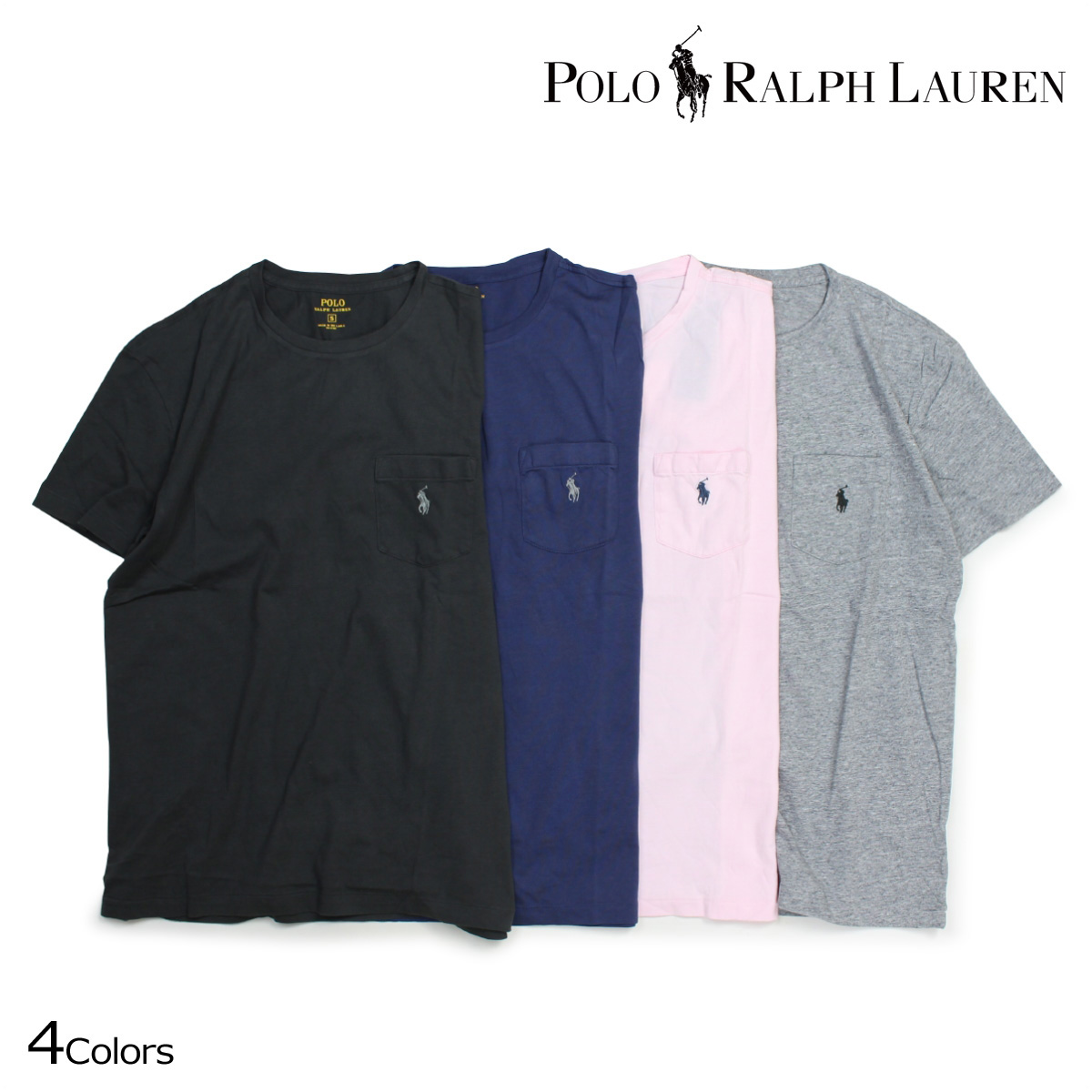 0666591b2769 Ralph Lauren T-shirt men short sleeves POLO RALPH LAUREN U neck polo T-shirt  T-SHIRTS TEE 4 color  7 26 Shinnyu load