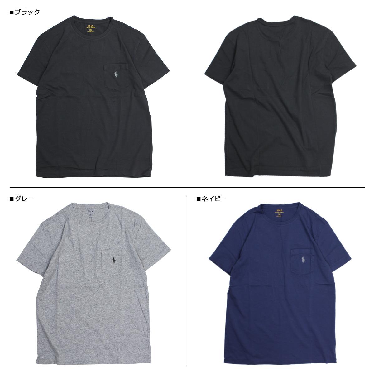 Ralph Lauren T-shirt men short sleeves POLO RALPH LAUREN U neck polo T-shirt  T-SHIRTS TEE 4 color [7/26 Shinnyu load]