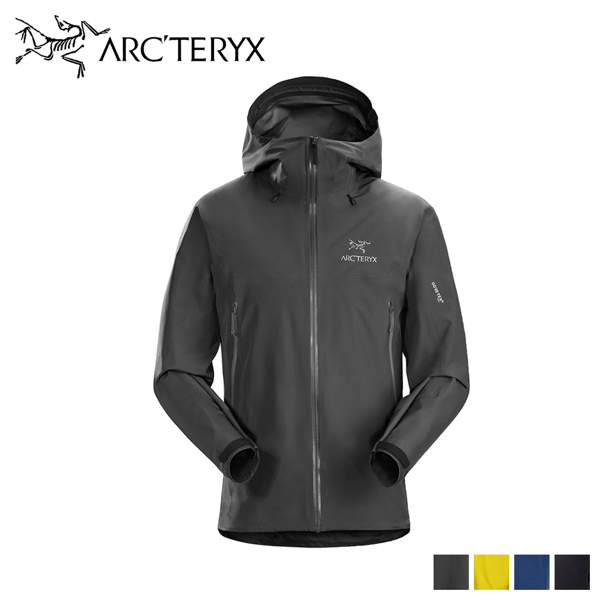 アークテリクス ARCTERYX ジャケット ベータ メンズ BETA LT JACKET ブラック ブルー イエロー 黒 18007