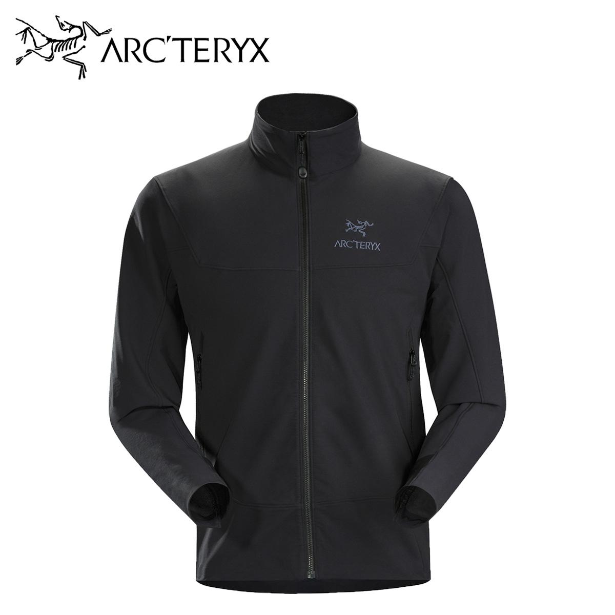 アークテリクス ARCTERYX ジャケット ガンマ メンズ GAMMA LT JACKET ブラック 黒 17308