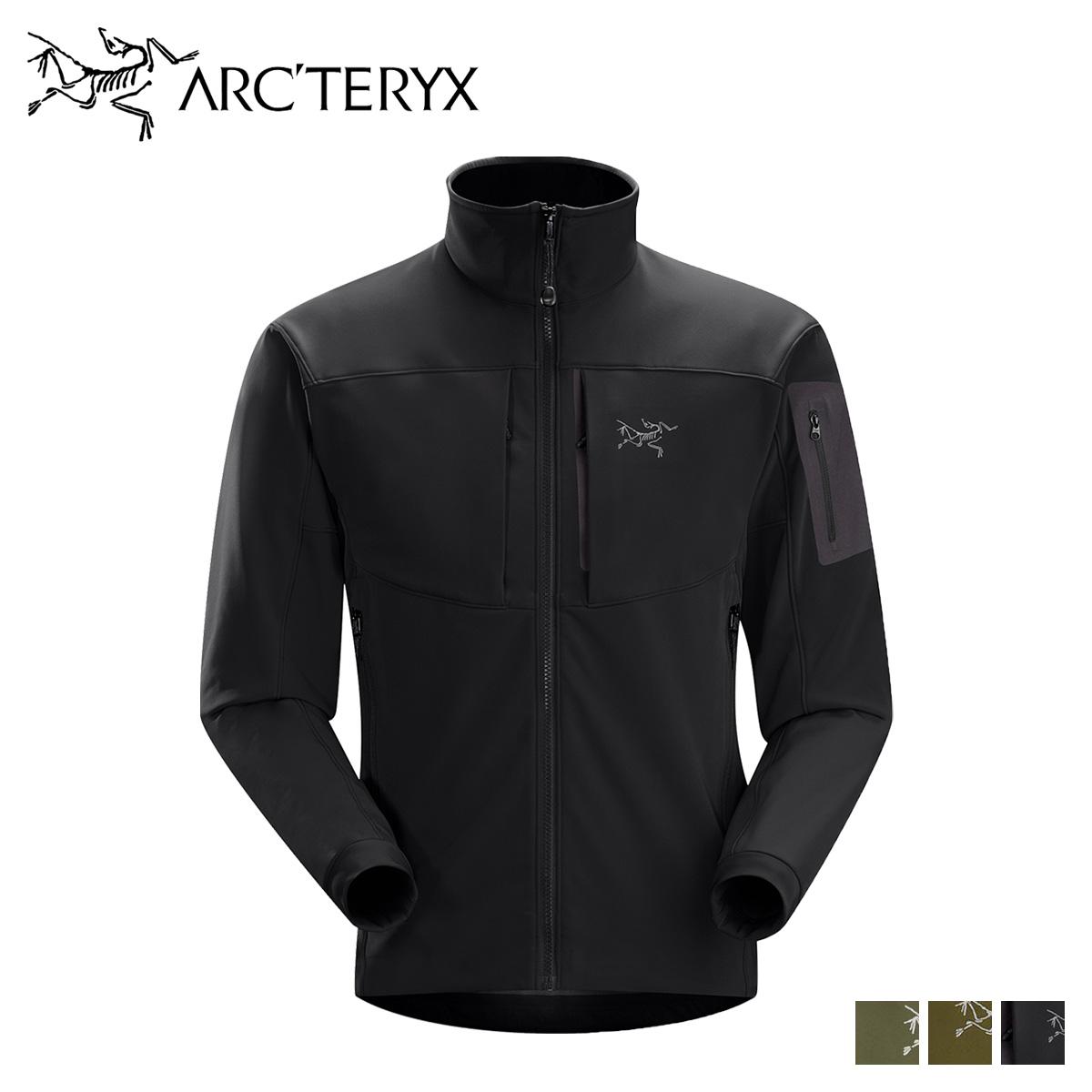 アークテリクス ARCTERYX ジャケット ガンマ メンズ GAMMA MX JACKET ブラック カーキ グリーン 黒 19276