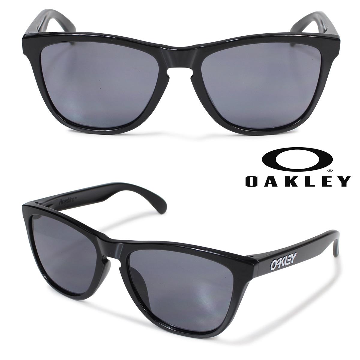 Oakley サングラス アジアンフィット オークリー Frogskins フロッグスキン ASIA FIT OO9245-01 ブラック メンズ レディース