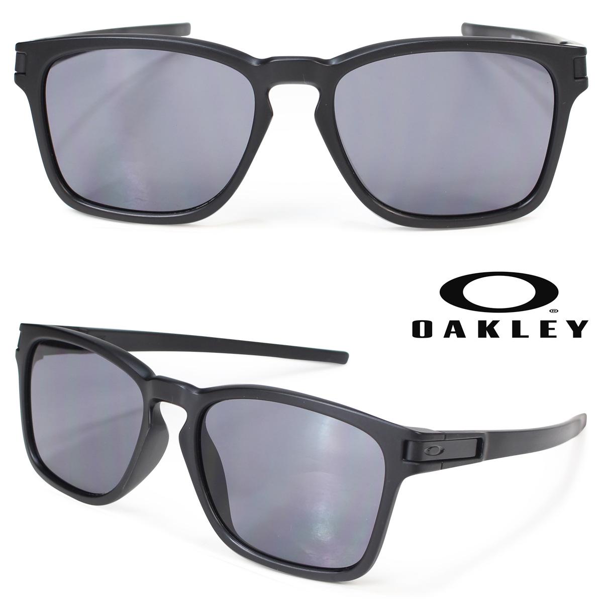 オークリー サングラス ラッチ アジアンフィット Oakley LATCH SQUARE ASIA FIT OO9358-01 ブラック 黒 メンズ レディース