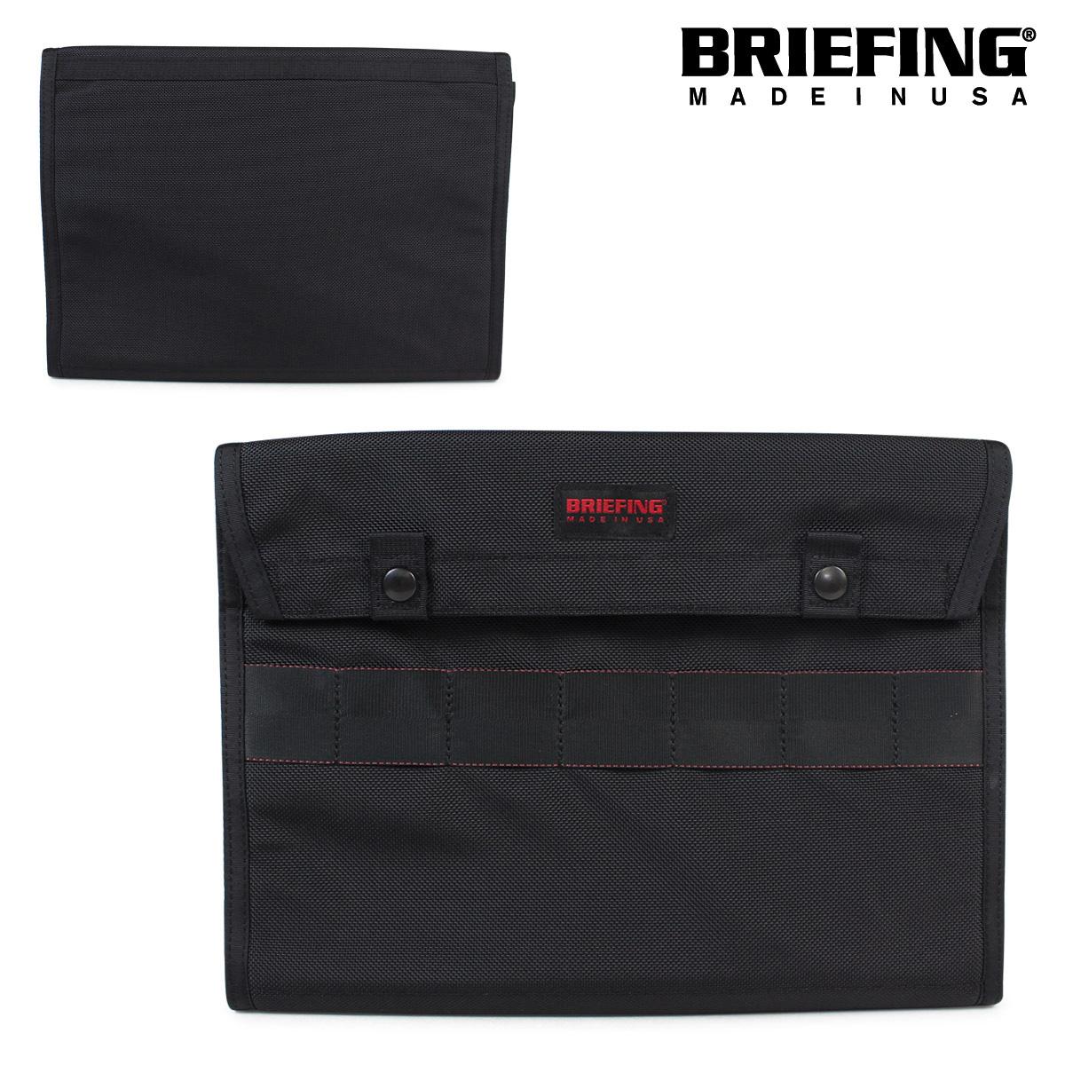 【誠実】 BRIEFING メンズ ブリーフィング BRIEFING BRF487219 バッグ クラッチバッグ DOCUMENT CASE BRF487219 メンズ ブラック, モアネット casual select:f9035d27 --- hortafacil.dominiotemporario.com