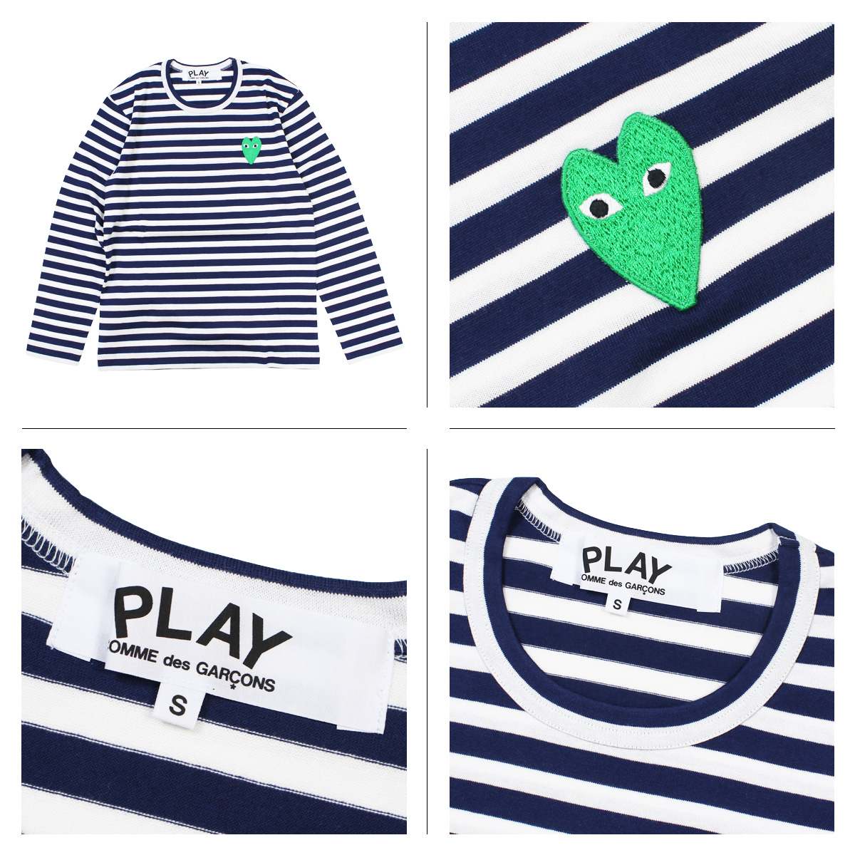 Sugar Online Shop: COMME des GARCONS PLAY T-shirt long sleeves ...