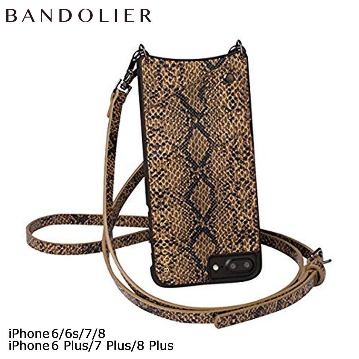バンドリヤー BANDOLIER iPhone8 iPhone7 7Plus 6s ケース スマホ アイフォン プラス CYNTHIA FALL17 レザー メンズ レディース