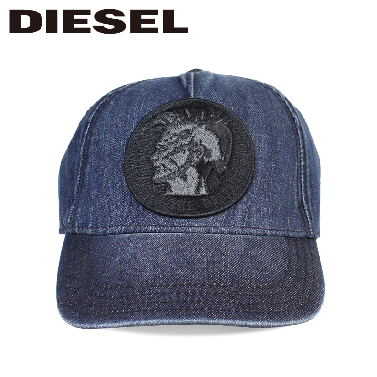 Sugar Online Shop  DIESEL diesel hat cap snapback men gap Dis CATEEN-D HAT  00SP2P0CAMW 01UNI indigo blue  11 7 Shinnyu load   1e975d279b2