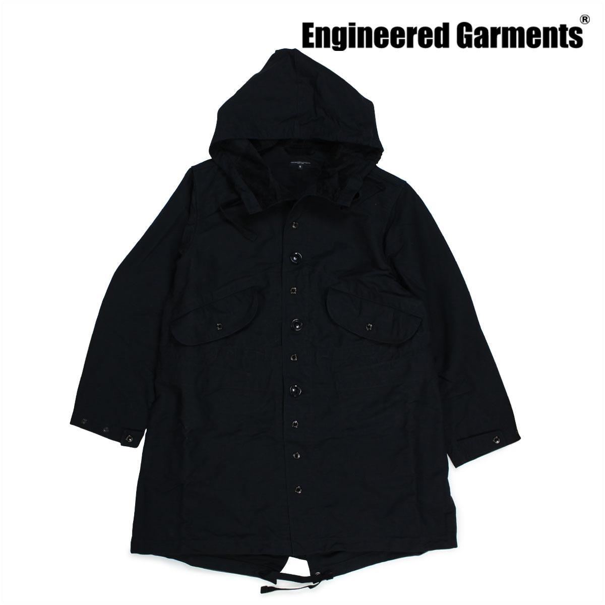 ENGINEERED GARMENTS エンジニアードガーメンツ ジャケット メンズ ミリタリージャケット HIGHLAND PARKA F7D1358 ブラック 【決算セール 返品不可】