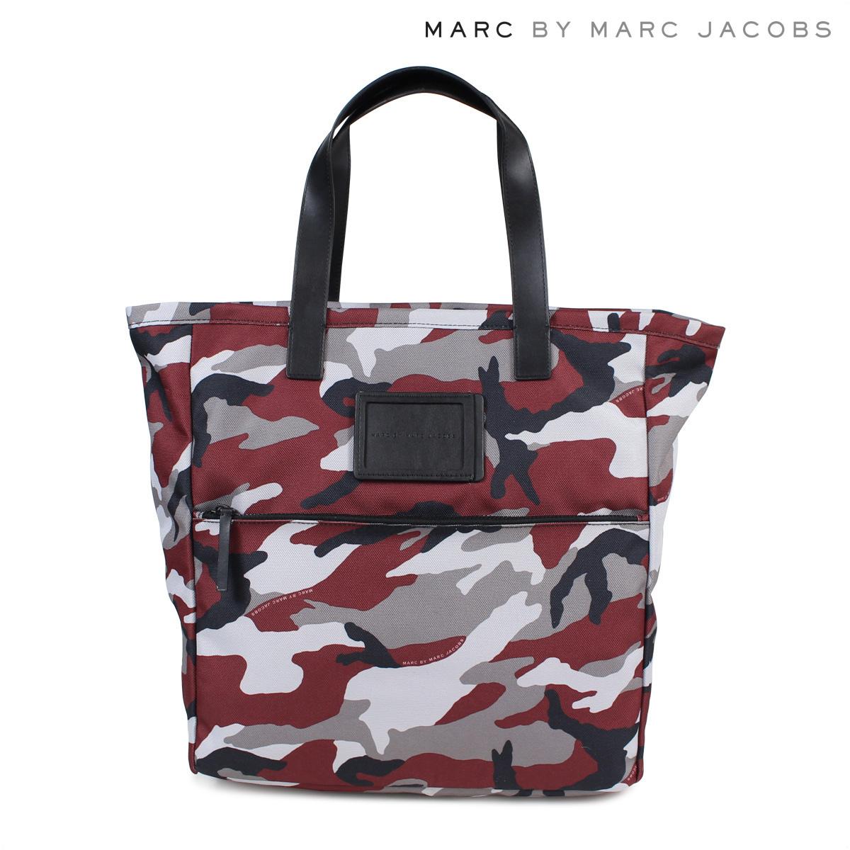 MARC BY MARC JACOBS マークバイマークジェイコブス バッグ トートバッグ レディース CAMO NYLON TOTE ワインレッド 赤 M0003918