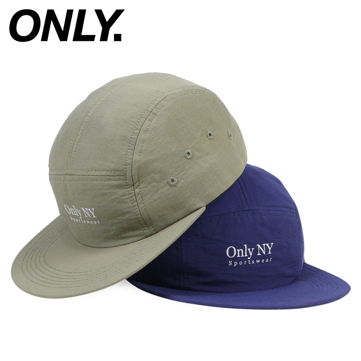 Only New York ONLY NY cap hat men gap Dis GUIDELINE 5-PANEL CAP strap back  nylon  12 22 Shinnyu load  2aaf697695ec