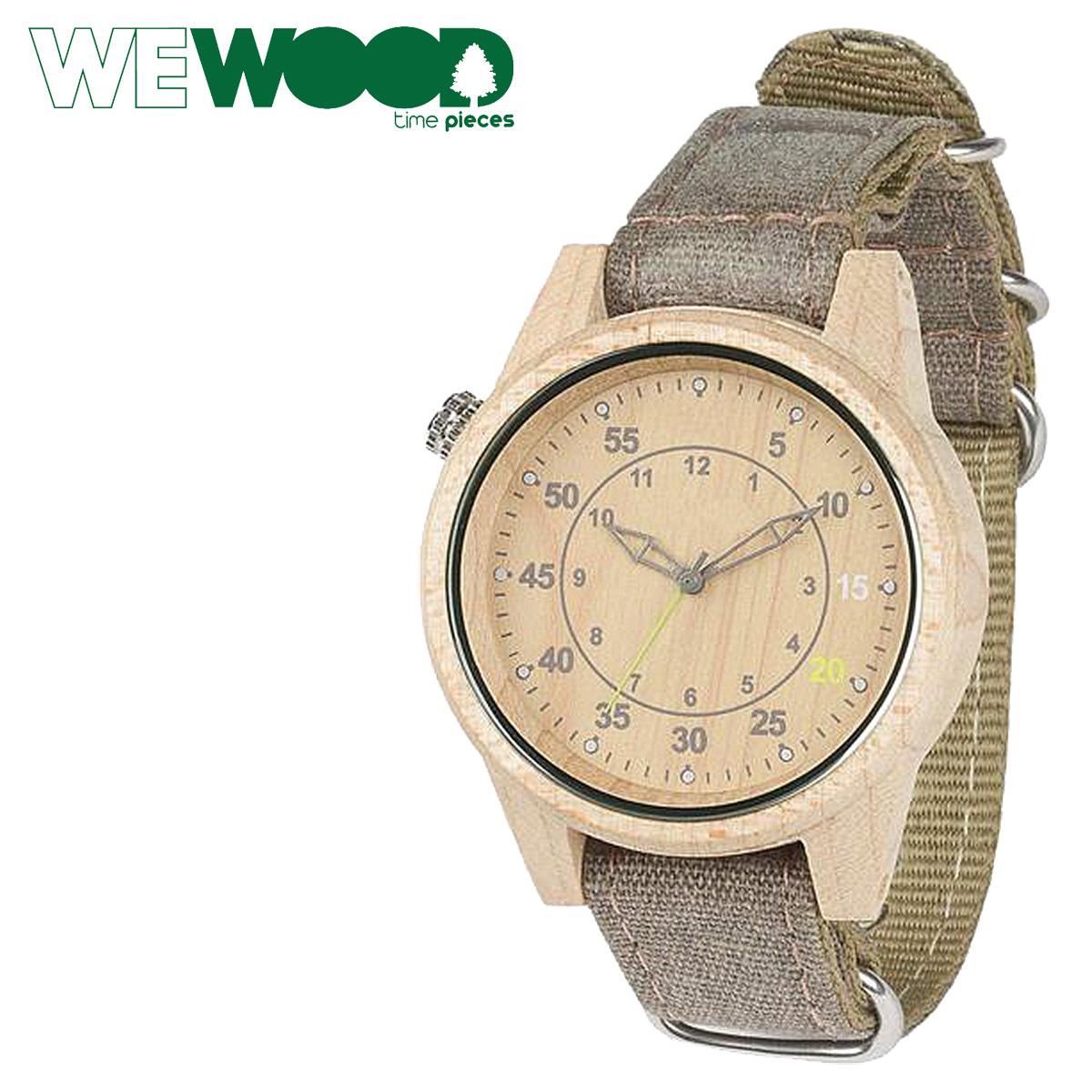 ウィーウッド 腕時計 WEWOOD メンズ レディース DUHBE BEIGE CHOCO WDUCHB グレー