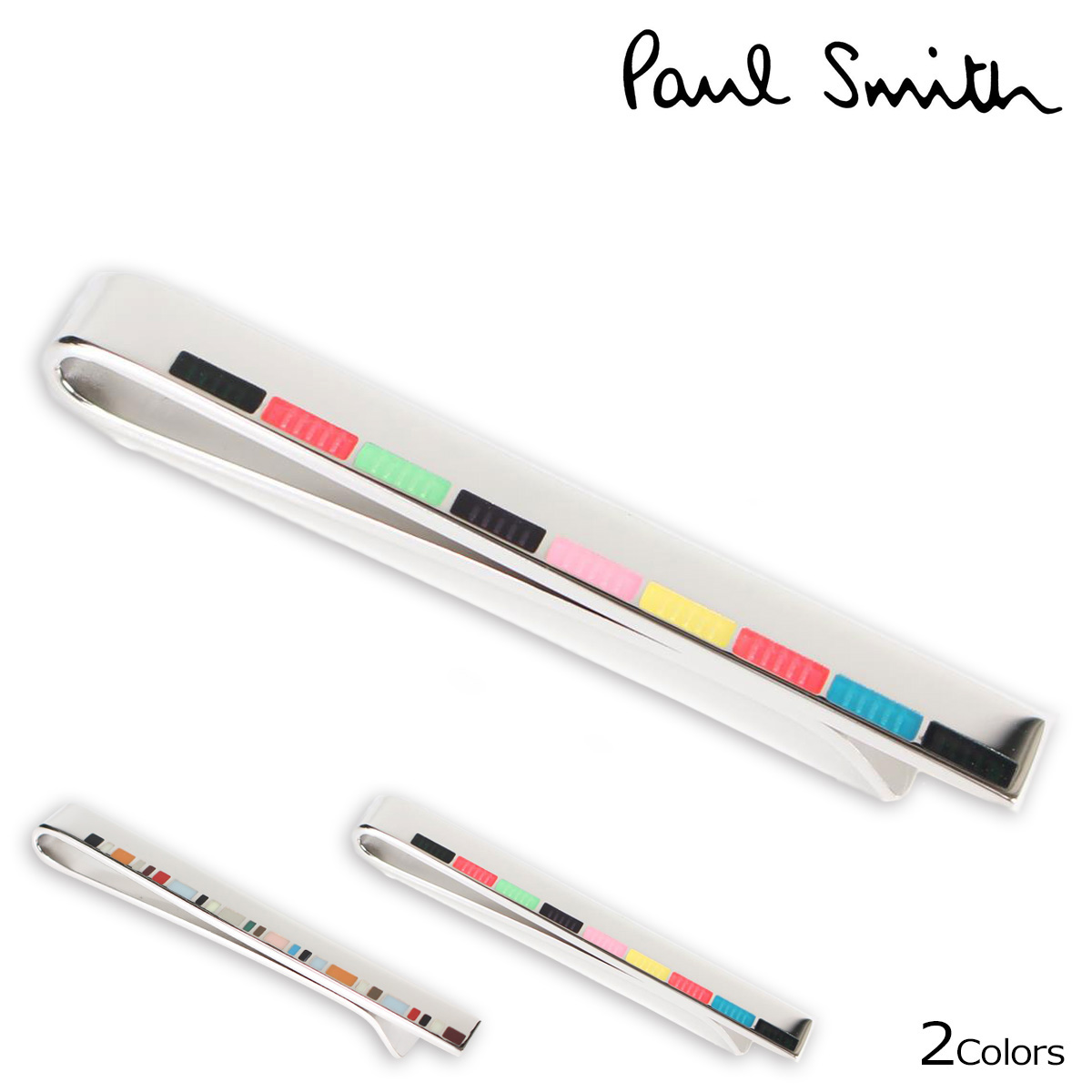 Paul Smith tiepin Paul Smith men Thailand bar TIE PIN silver