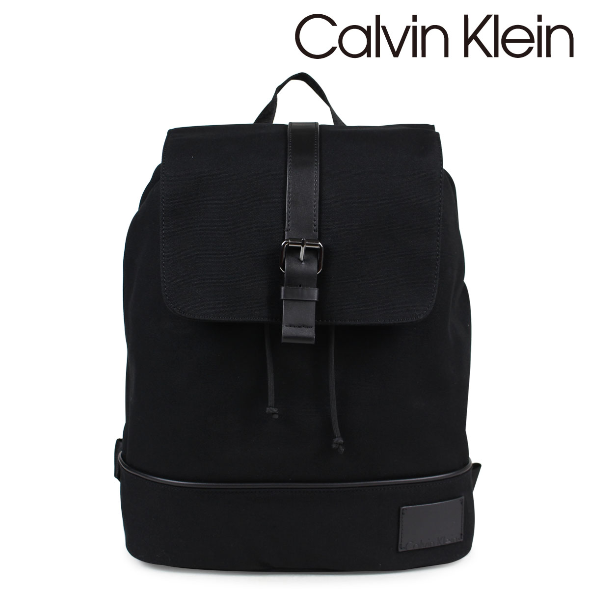 a0d09b5a9e7 Calvin Klein Calvin Klein bag men rucksack backpack COATED CANVAS PU  BACKPACK black black 2975019796 ...