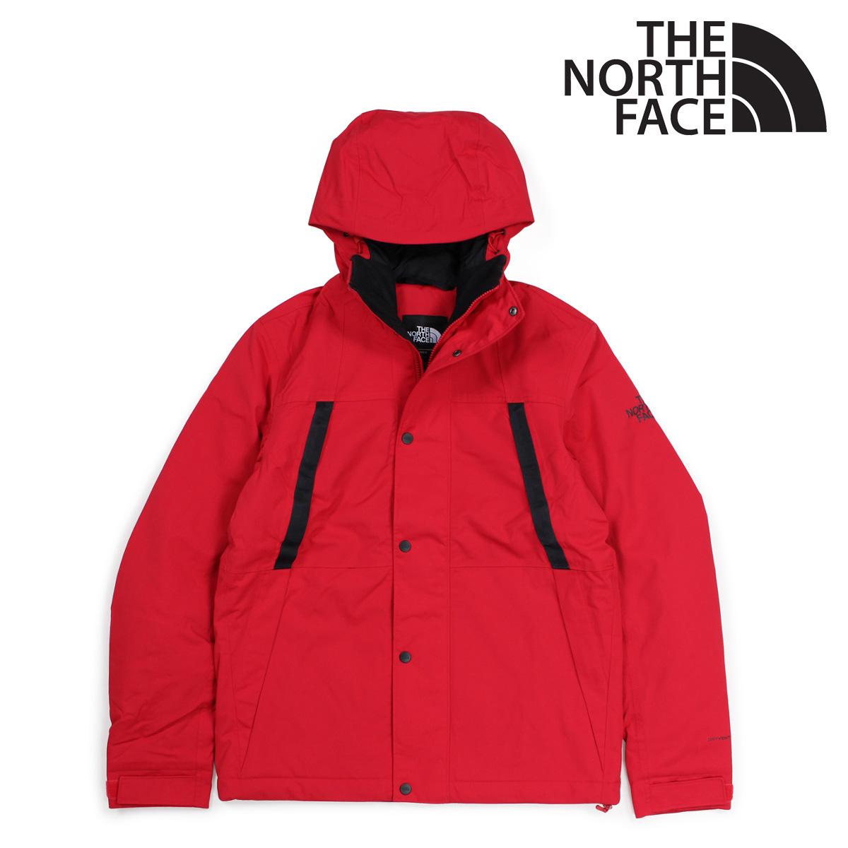 THE NORTH FACE ノースフェイス ジャケット レインジャケット メンズ MENS STETLER INSULATED RAIN JACKET レッド NF0A3EQ8