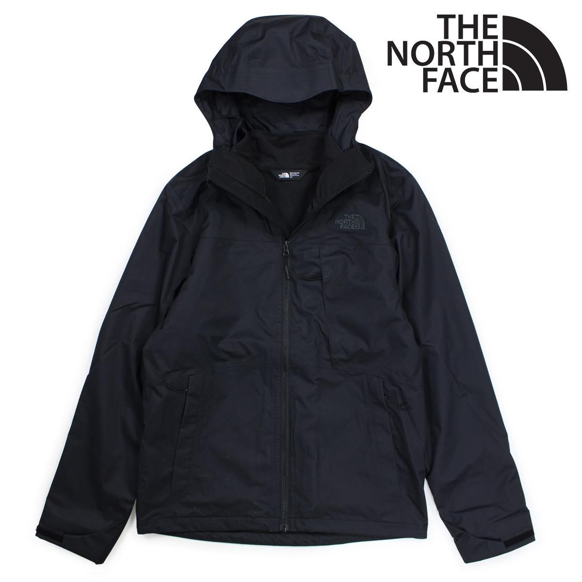 2dbd6e7cd THE NORTH FACE North Face jacket mountain parka men MENS ARROWOOD  TRICLIMATE JACKET black black NF0A2TCN