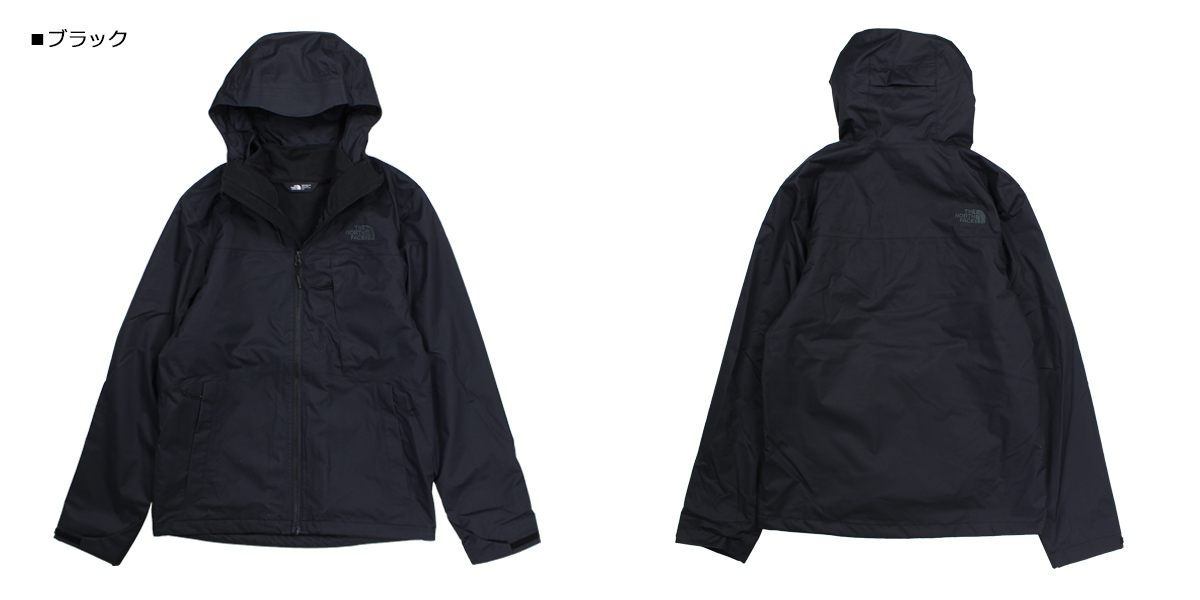 THE NORTH FACE North Face jacket mountain parka men MENS ARROWOOD TRICLIMATE JACKET black black NF0A2TCN