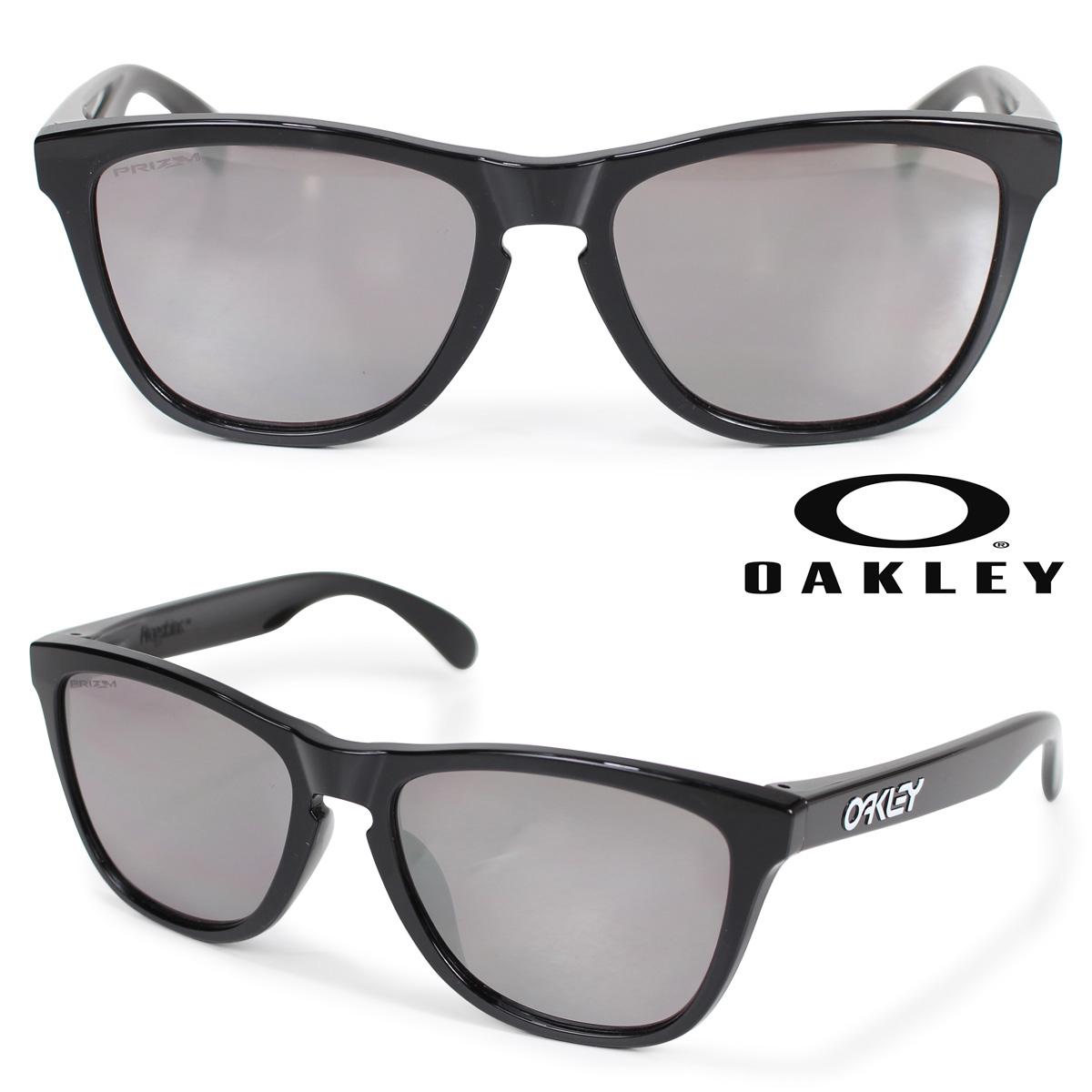 Oakley サングラス アジアンフィット オークリー Frogskins フロッグスキン ASIA FIT メンズ レディース ブラック OO9245-6254