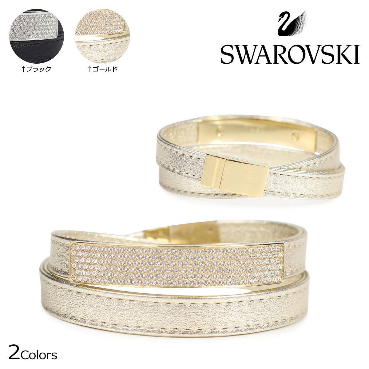 SWAROVSKI スワロフスキー ブレスレット レディース VIO ブラック ゴールド 5171994 M 5171996 M