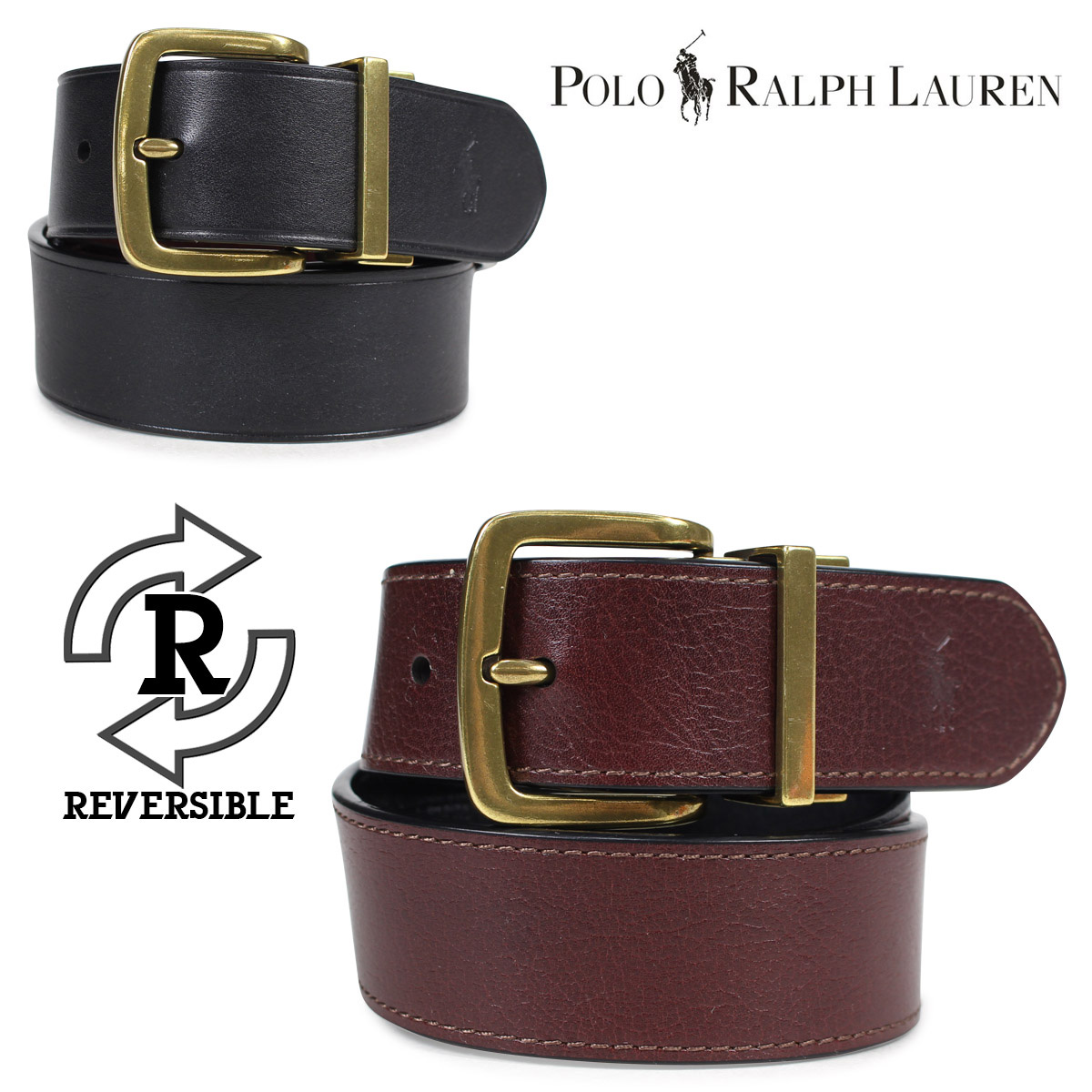 7974e3ae9ee4 Sugar Online Shop  POLO RALPH LAUREN belt men genuine leather polo ...