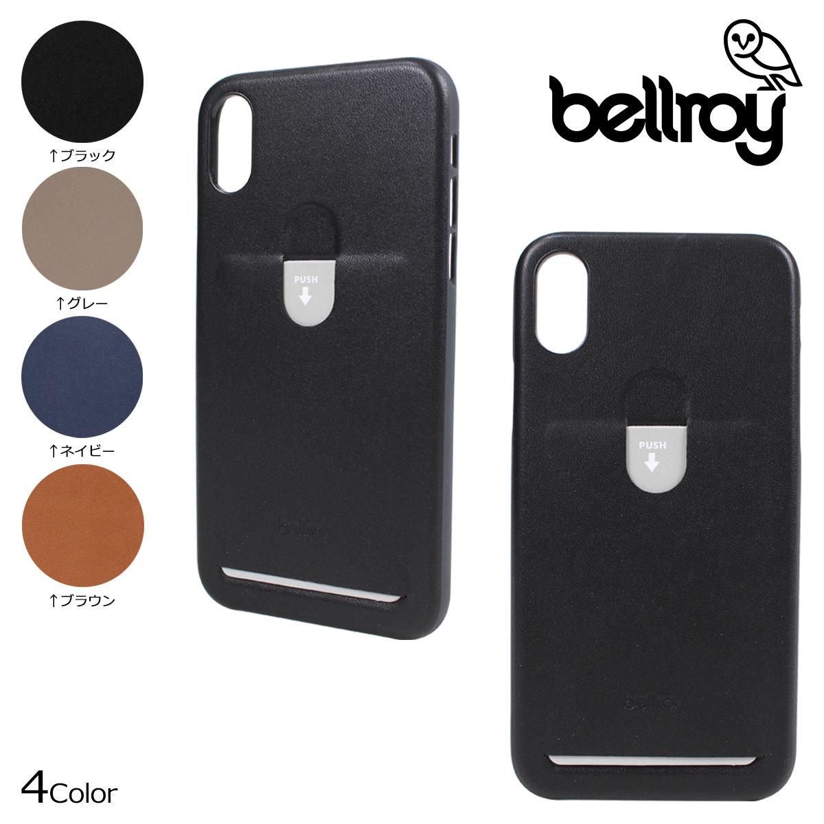 promo code 205b5 5e014 Bellroy bell Roy iPhoneX case smartphone eyephone PHONE CASE 1 CARD men gap  Dis PCXA [5/1 Shinnyu load]