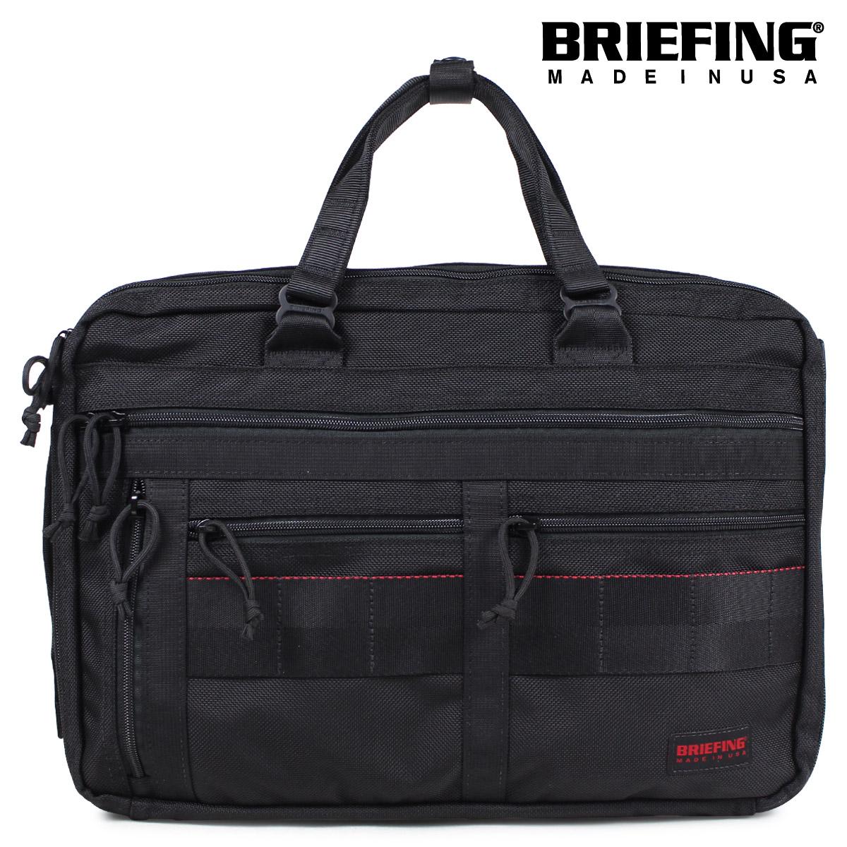 BRIEFING ブリーフィング バッグ 3way ブリーフケース ビジネスバッグ メンズ A4 3 WAY LINER ブラック BRM181401010