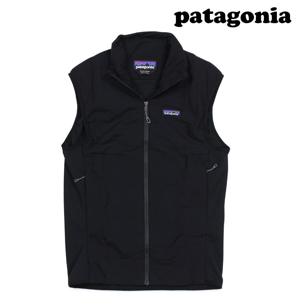 patagonia パタゴニア ダウンベスト メンズ MENS NANO-AIR LIGHT HYBRID VEST ブラック 84355