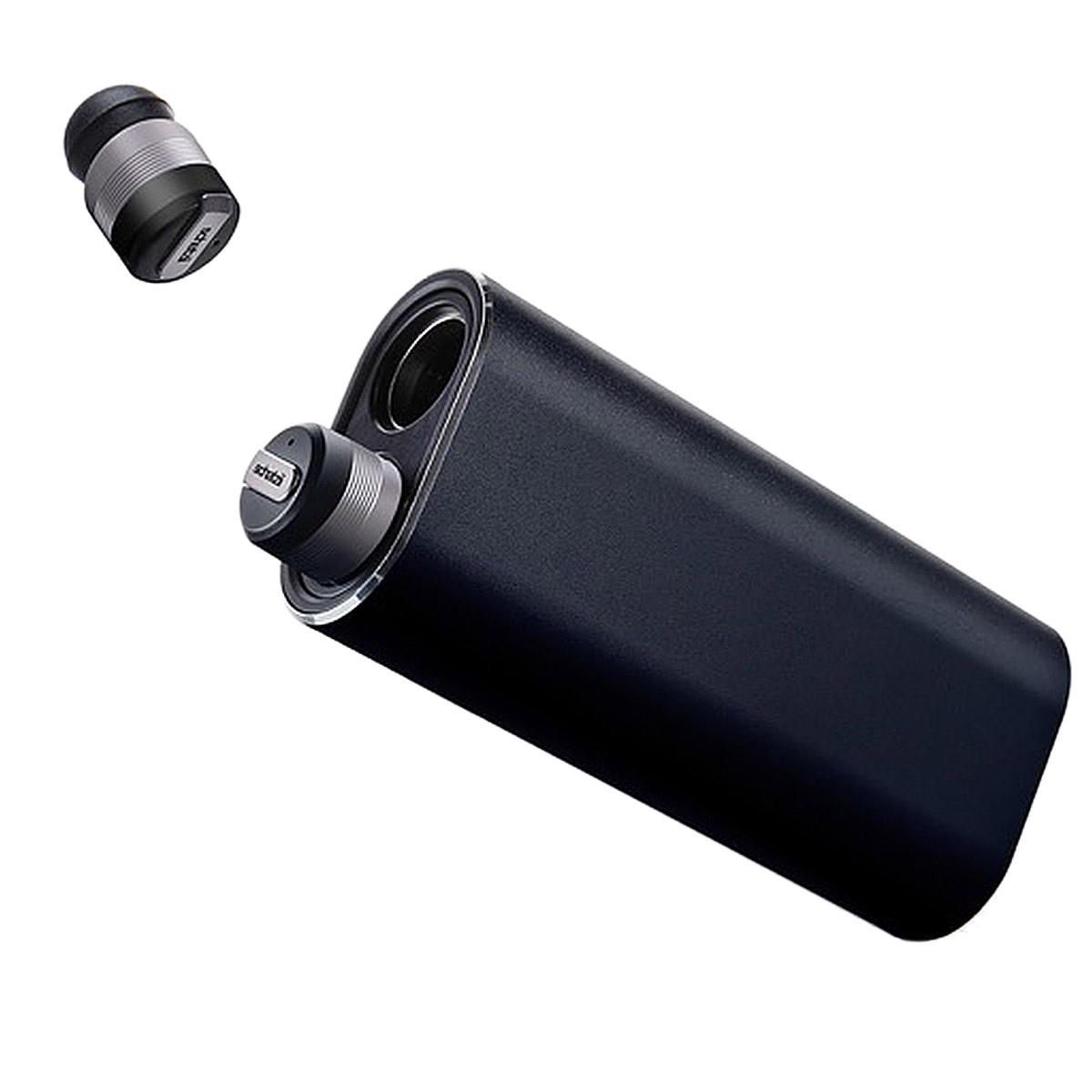 シャツィ schatzii ワイヤレスイヤホン iPhone Bluetooth 両耳 マイク LIMITED EDITION BLACK BULLET2.0 ブラック SB-003