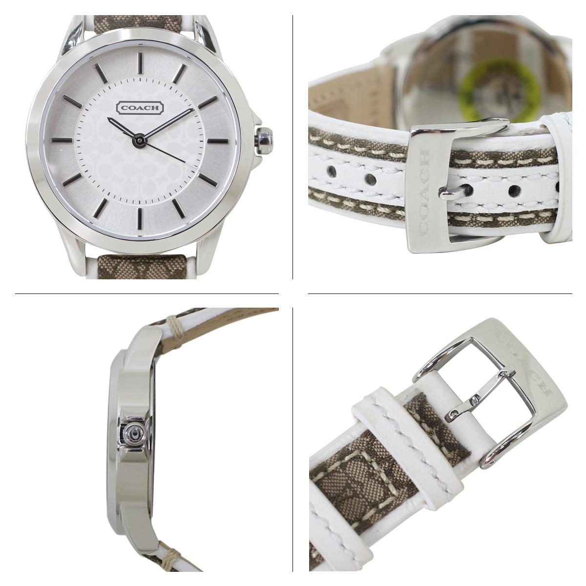 COACH コーチ 腕時計 レディース シグネチャー レザー ブラウン 14501526