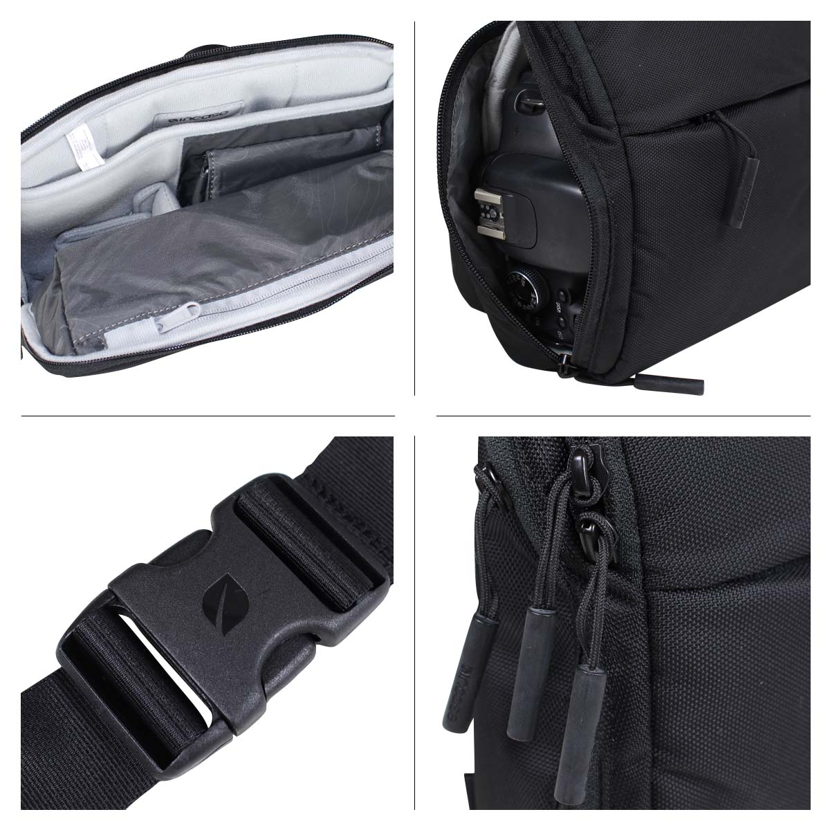 In Case Incase Camera Bag Point And Shoot Field Men Gap Dis Black Cl58066