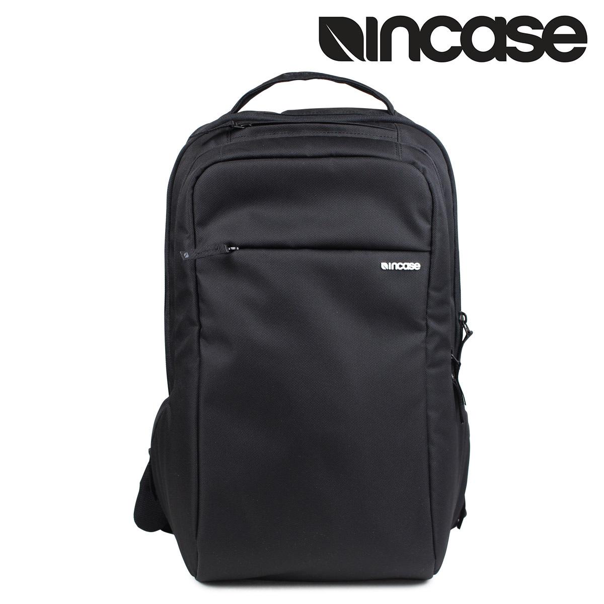 インケース INCASE リュック バックパック CL55532 ICON BACKPACK NYLON メンズ ブラック 黒 [4/10 再入荷]
