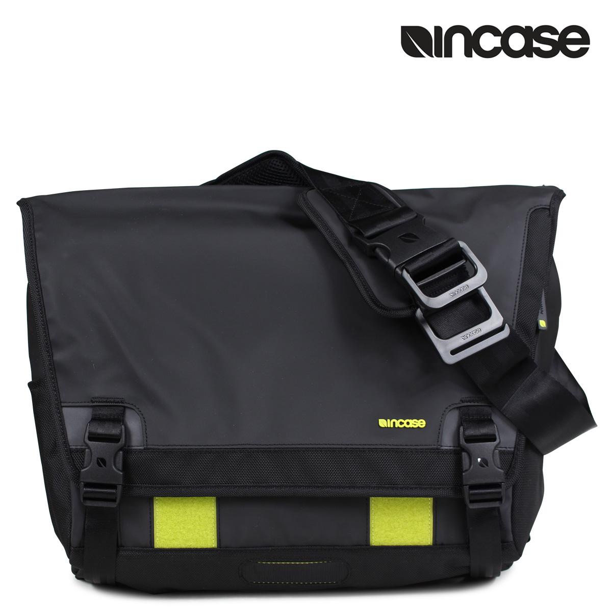 9f043a0da3da Incase chrome slider INCASE Messenger back shoulder bags mens 2015 stock  CL55539 black RANGE MESSENGER BAG FOR 15