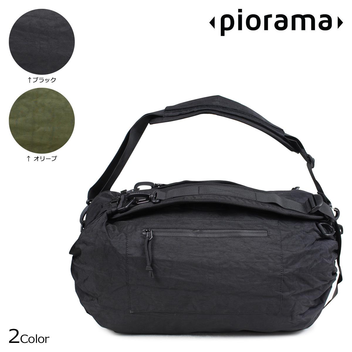 ピオラマ PIORAMA A10 バッグ ショルダーバッグ バックパック ボストン 31L 46.5L 62L THE ADIUSTABLE BAG メンズ レディース ブラック オリーブ