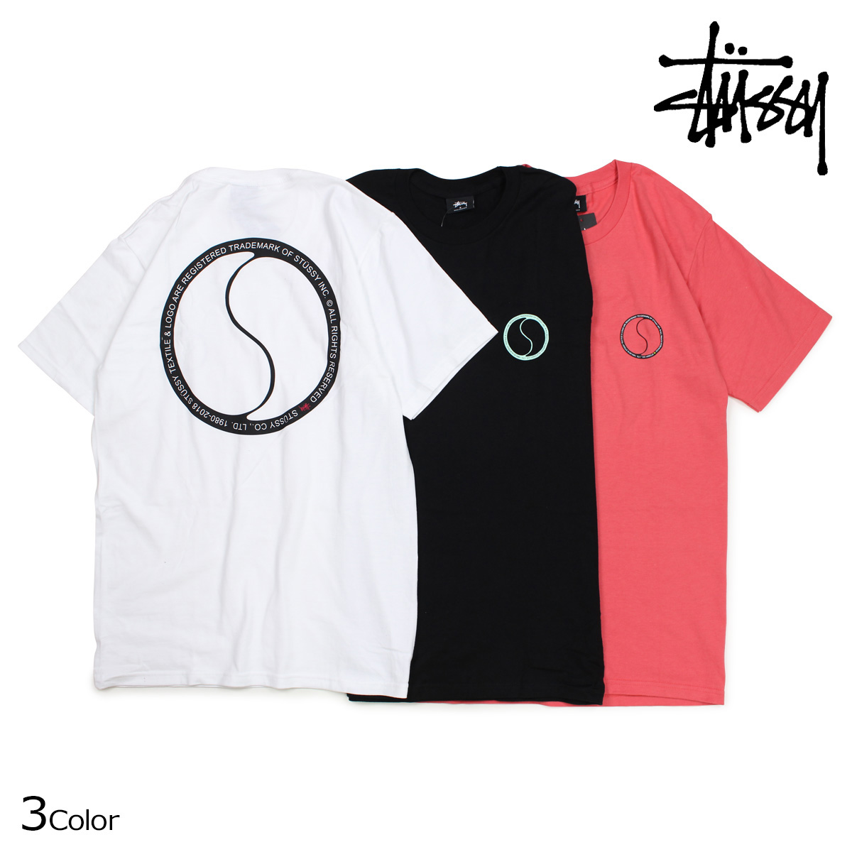 Sugar Online Shop  STUSSY ステューシー T-shirt men short sleeves S ... cb4953c6d8e