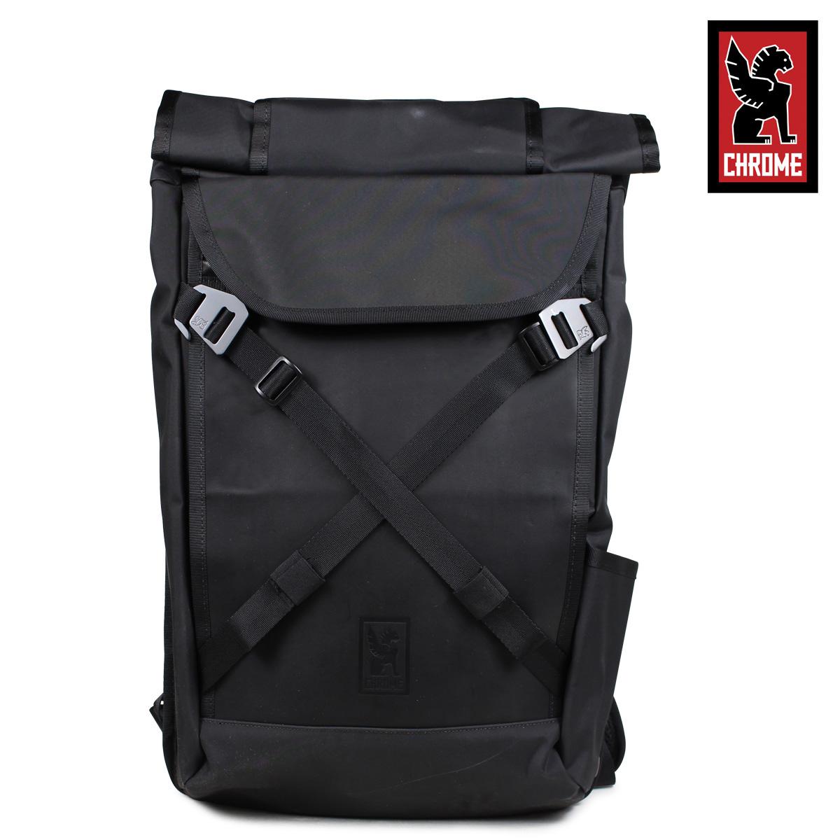 CHROME リュック バッグ クローム バックパック 25L メンズ レディース BRAVO 2.0 ブラック BG-190