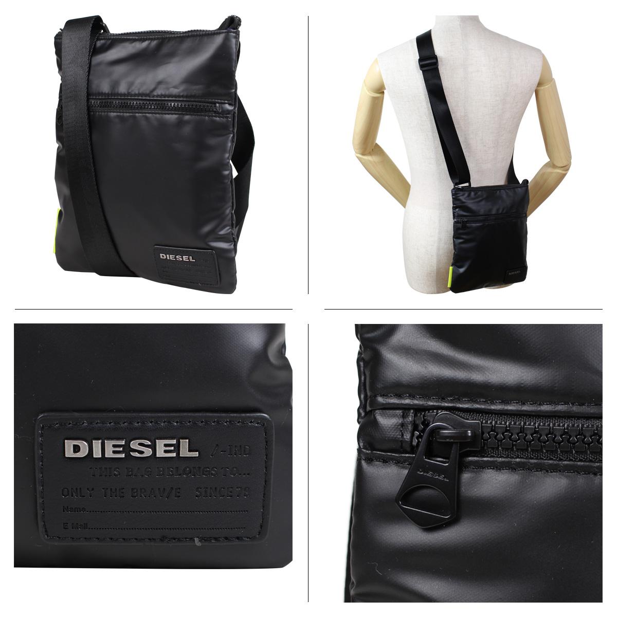 b5c43b1d3a DIESEL bag men gap Dis diesel shoulder bag F-DISCOVER CROSS X04813 P1157  T8013 black  6 18 Shinnyu load