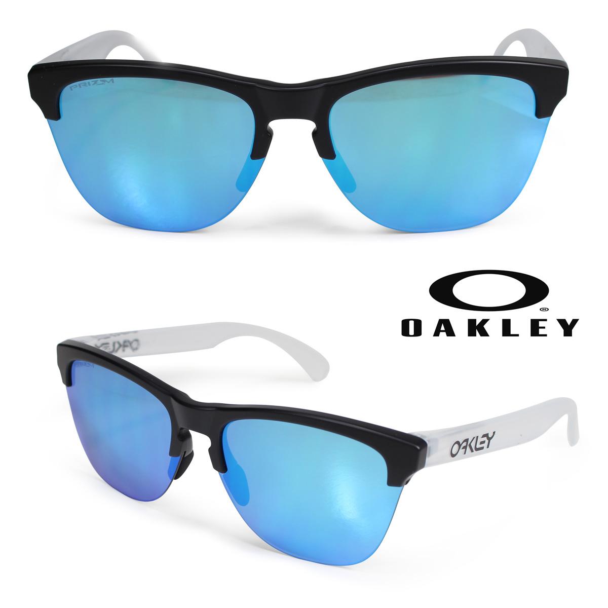 Oakley サングラス オークリー Frogskins lite フロッグスキン ライト US FIT メンズ レディース ブラック OO9374-02