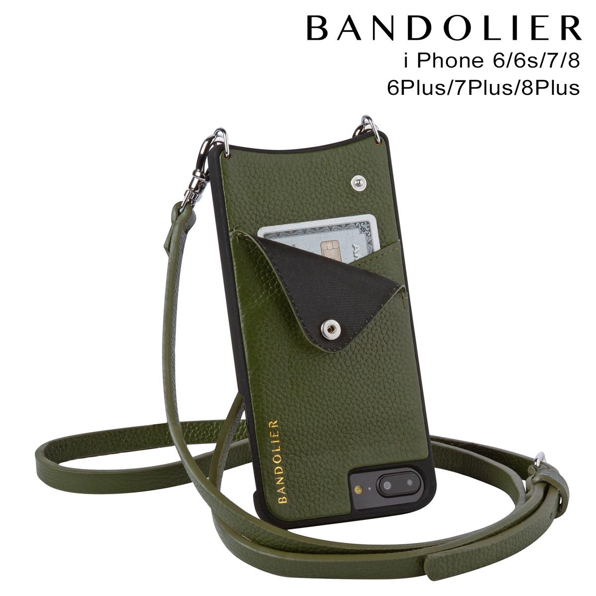 バンドリヤー BANDOLIER iPhone8 iPhone7 7Plus 6s ケース スマホ アイフォン プラス EMMA CACTUS メンズ レディース