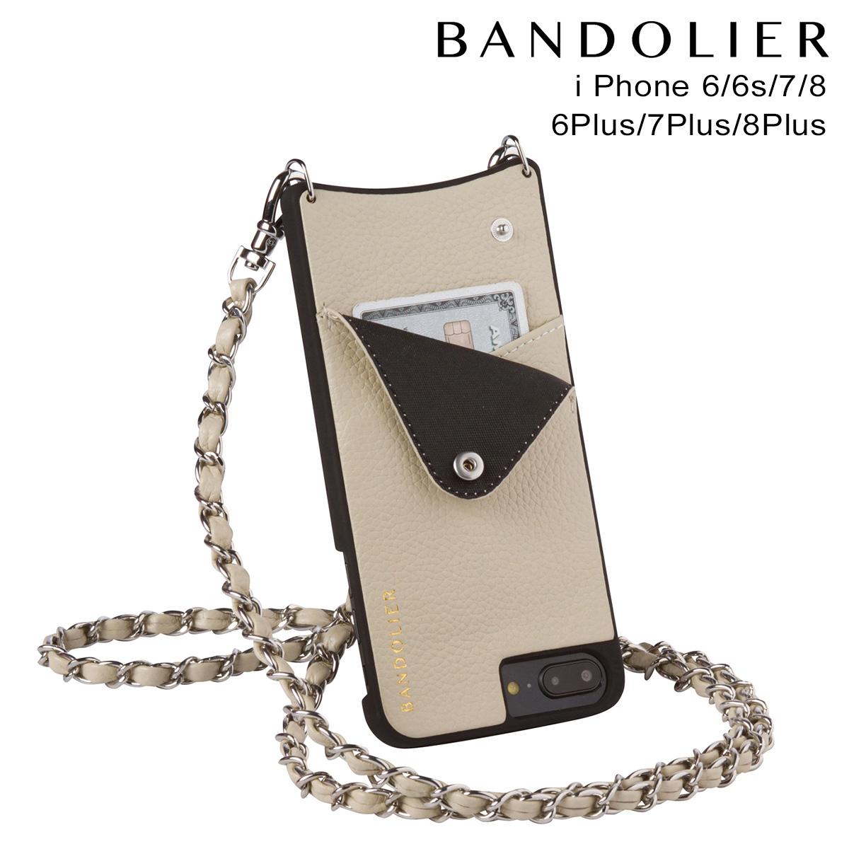 バンドリヤー BANDOLIER iPhone8 iPhone7 7Plus 6s ケース スマホ アイフォン プラス LUCY IVORY メンズ レディース