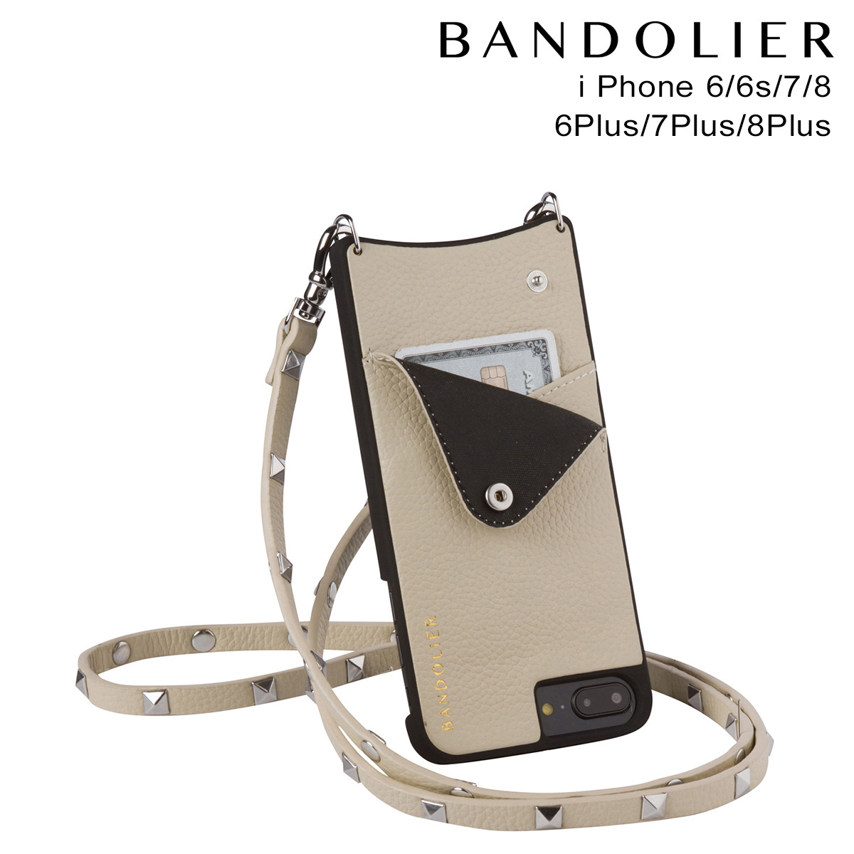 バンドリヤー BANDOLIER iPhone8 iPhone7 7Plus 6s ケース スマホ アイフォン プラス SARAH IVORY メンズ レディース